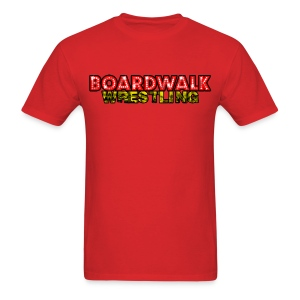 Boardwalk Wrestling Logo 2015 - Men's T-Shirt
