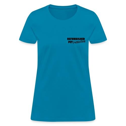 Women's Double Sided T-Shirt - Black Logo - Women's T-Shirt