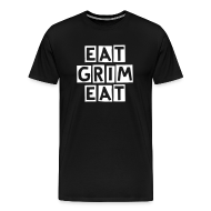 T-Shirts ~ Men's Premium T-Shirt ~ EAT GRIM EAT Mens T-Shirt