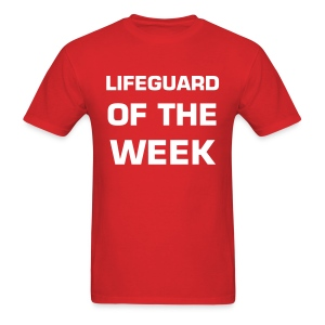 Lifeguard of the Week - Men's T-Shirt