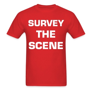 Survey the Scene - Men's T-Shirt