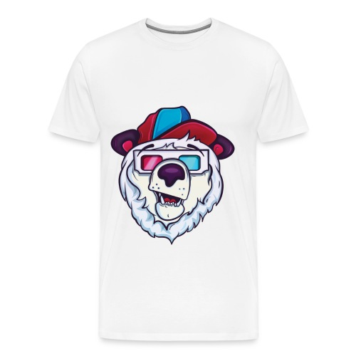 White Tee  - Men's Premium T-Shirt