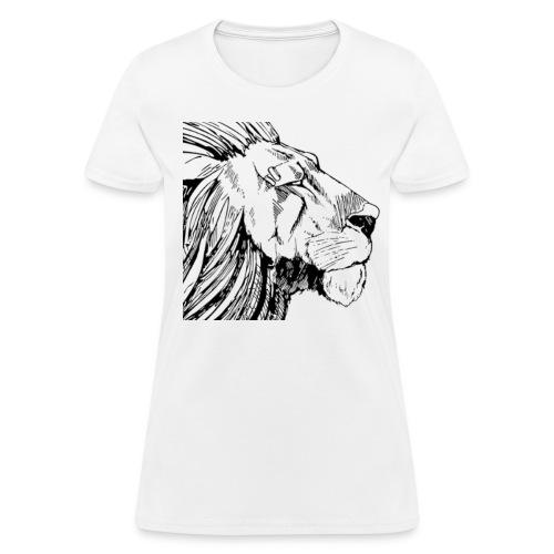 Lion Female Shirt - Women's T-Shirt