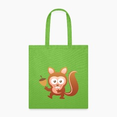 Smiling Little Squirrel Bags & backpacks