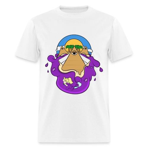 Trippy Paradise (T-Shirt) - Men's T-Shirt