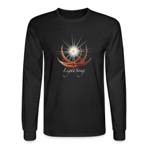 Unisex LightSong Never Is Nothing Happening Long Sleeve Tee - Men's Long Sleeve T-Shirt