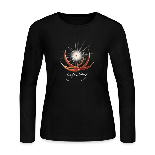 Womens LightSong Never Is Nothing Happening Long Sleeve Tee - Women's Long Sleeve Jersey T-Shirt