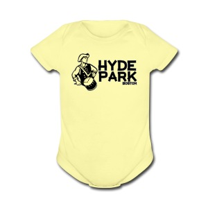 Hyde Park Boston - Short Sleeve Baby Bodysuit