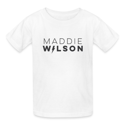 Child's Logo Shirt White - Kids' T-Shirt