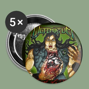 Ultimatum - Heart of Metal Button - Small Buttons