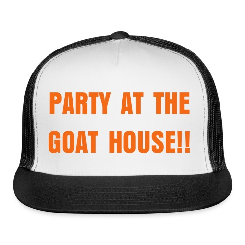 Party At The Goat House Hat - Trucker Cap