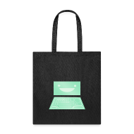 Bags & backpacks ~ Tote Bag ~ Netrunner dinosaurus screen