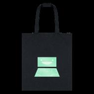 Bags & backpacks ~ Tote Bag ~ Netrunner dinosaurus screen