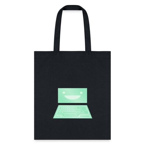 Netrunner dinosaurus screen - Tote Bag