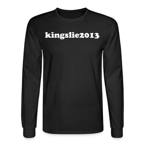 black kingslie2013 long sleeve shirt  - Men's Long Sleeve T-Shirt
