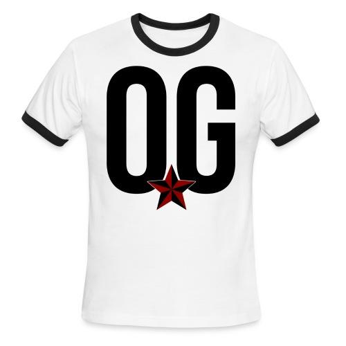 O.G. teeshirt - Men's Ringer T-Shirt