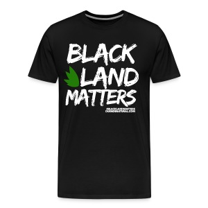 Duende #BlackLandMatters V3 Mens - Men's Premium T-Shirt