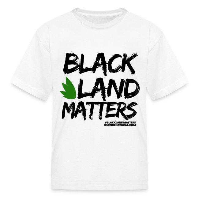 Duende #BlackLandMatters V3 Kid's-White