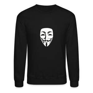 Anonymous Face - MEN - Crewneck Sweatshirt