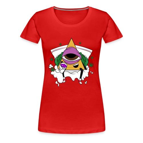 In The Clouds (Women's T-Shirt) - Women's Premium T-Shirt
