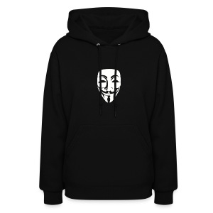 Anonymous Face - WOMEN - Women's Hoodie
