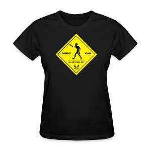 Zombie Crossing (Unlucky Girl) Women's T-SHirt - Women's T-Shirt