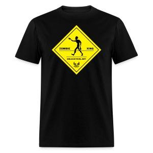Zombie Crossing (Unlucky Girl) Men's T-SHirt - Men's T-Shirt