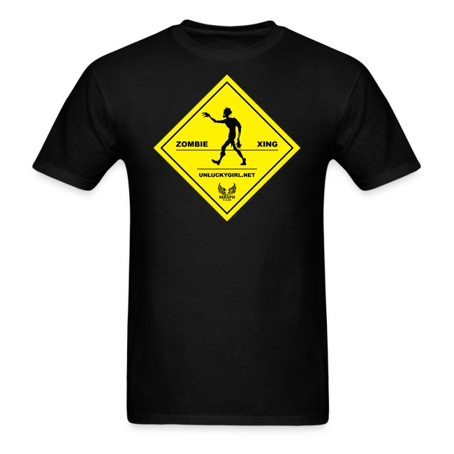 Zombie Crossing (Unlucky Girl) Men's T-SHirt