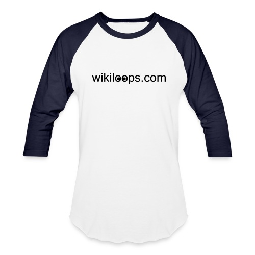 wikiloops baseball shirt - Baseball T-Shirt