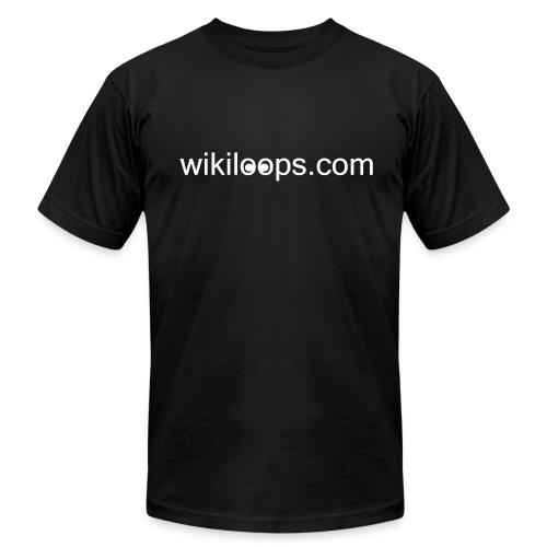 wikiloops classic shirt - Men's  Jersey T-Shirt