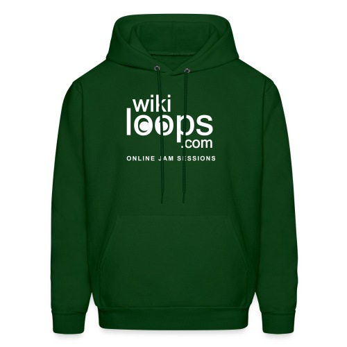wikiloops hoodie 2015 - Men's Hoodie