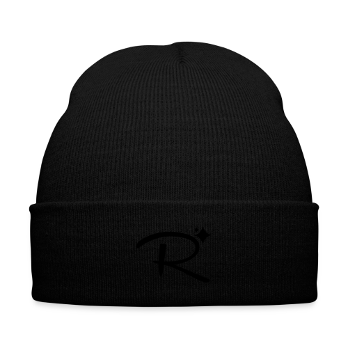 Randomland Beanie - Knit Cap with Cuff Print