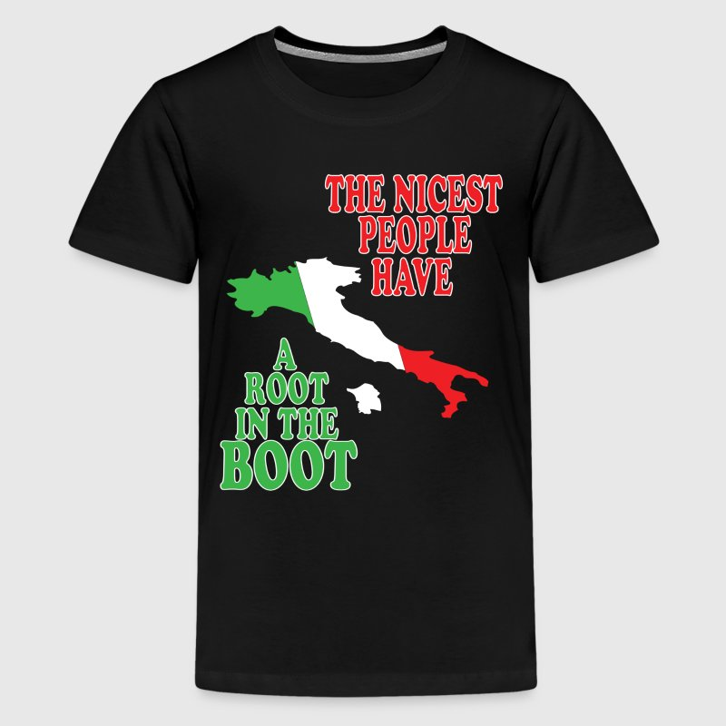 Root in the boot Kids' Shirts - Kids' Premium T-Shirt