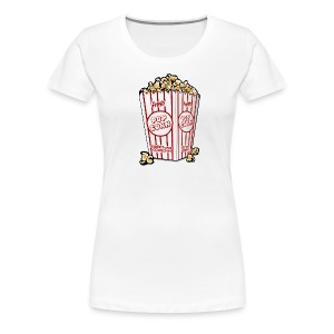 Sweet and Crunchy Popcorn - Women's Premium T-Shirt
