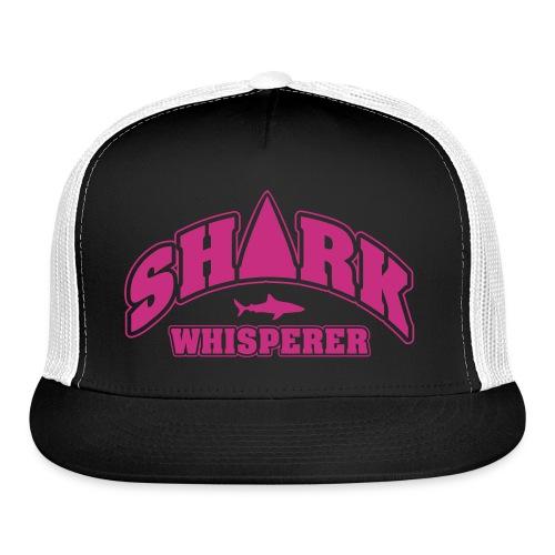 Trucker Cap - whisper,swim,sharks,shark,ocean,love