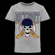 Kids' Shirts ~ Kids' Premium T-Shirt ~ Baseball Skull