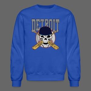 Baseball Skull - Crewneck Sweatshirt