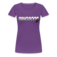 T-Shirts ~ Women's Premium T-Shirt ~ DanQ8000 Logo Shirt (May 2015) - Women's