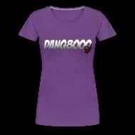 Women's T-Shirts ~ Women's Premium T-Shirt ~ DanQ8000 Logo Shirt (May 2015) - Women's