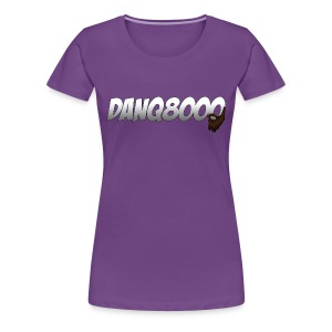 DanQ8000 Logo Shirt (May 2015) - Women's - Women's Premium T-Shirt