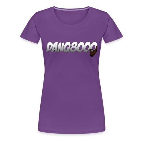 DanQ8000 Logo Shirt (May 2015) - Women's - Women's Premium T-Shirt