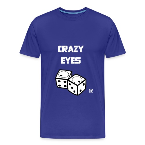 Crazy Eyes Dice Shirt - Men's Premium T-Shirt