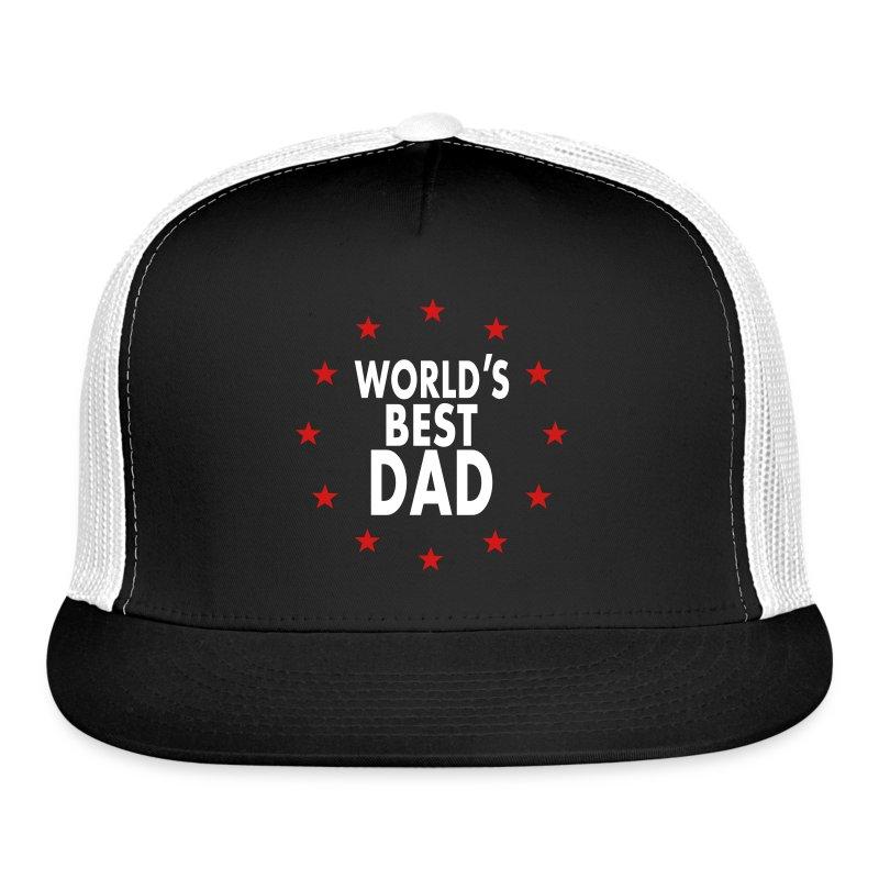 6948dd2fef6 World s Best Dad T-Shirt Caps - Trucker Cap
