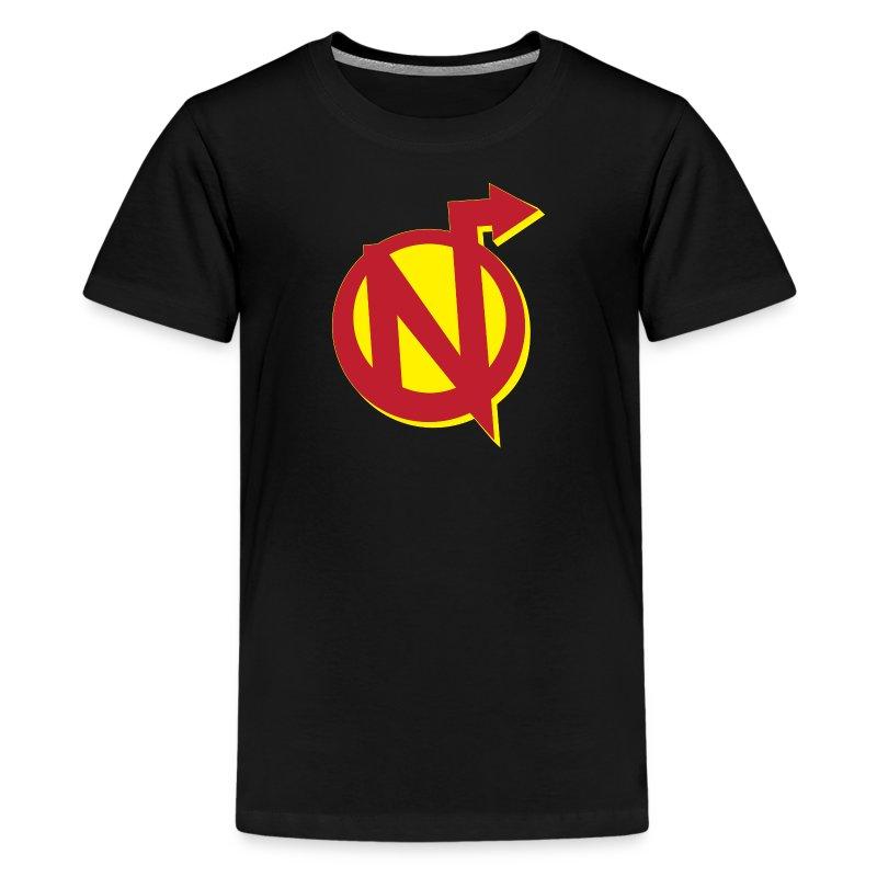 Nerdarchy N Logo Kid's Tee - Kids' Premium T-Shirt