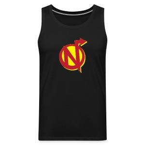 Nerdarchy N Logo Men's Premium Tank Top - Men's Premium Tank