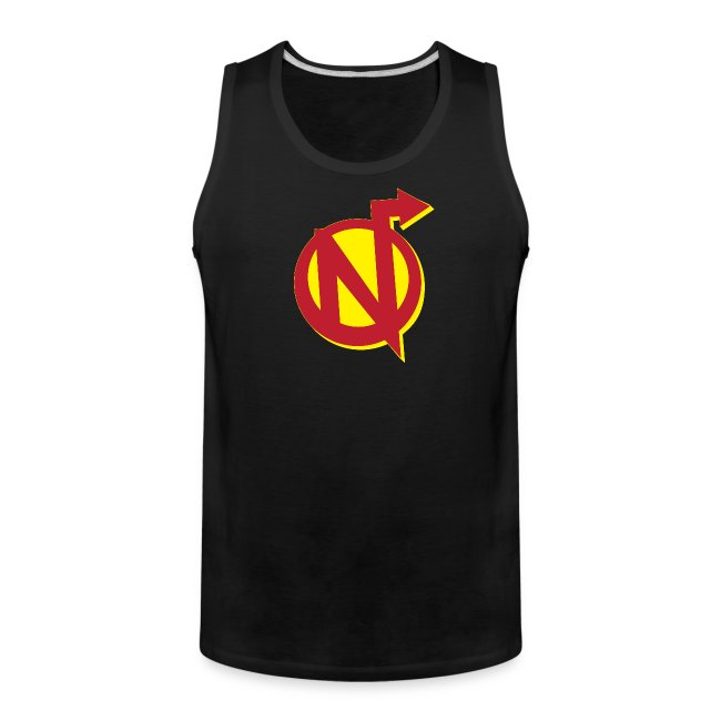 Nerdarchy N Logo Men's Premium Tank Top