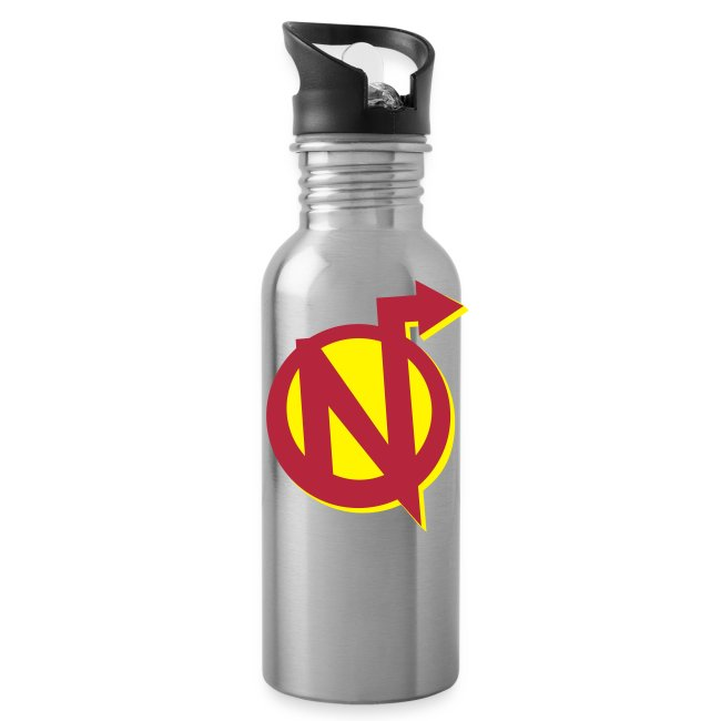 Nerdarchy N Logo Water Bottle