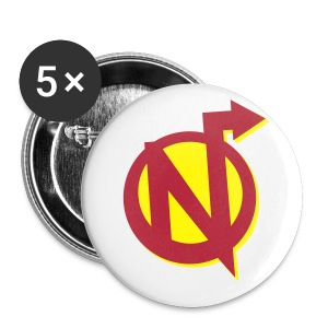 Nerdarchy N Logo Buttons - Small Buttons