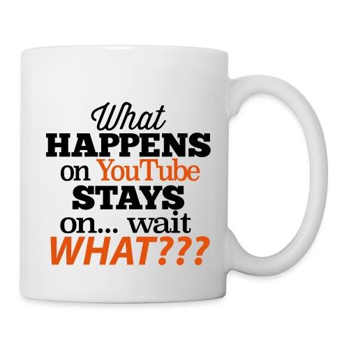 What Happens n YouTube Stays on... - Coffee/Tea Mug