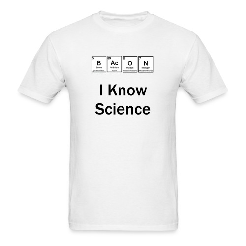 I know science - Men's T-Shirt